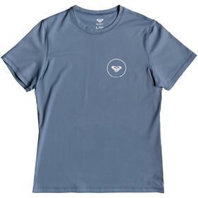 Roxy Enjoy Waves Lycra Naiset Lyhythihainen paita , sininen